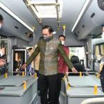 นายกรัฐมนตรีชมรถโดยสารพลังงานไฟฟ้าผลิตโดยคนไทยจากรถโดยสาร ขสมก. ยกระดับความก้าวหน้ายานยนต์ไฟฟ้าไทย
