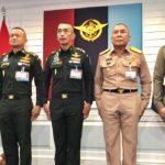 ผู้บัญชาการทหารสูงสุดนำผู้บัญชาการเหล่าทัพและผู้บัญชาการตำรวจแห่งชาติประกาศนโยบาย พิทักษ์รักษา ปกป้อง เทิดทูนสถาบันในฐานะองค์จอมทัพไทย ยืนยันทหารไม่เกี่ยวข้องกับการเมือง เว้นเป็นเรื่องความมั่นคงของรัฐ