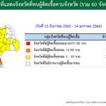 COVID-19 ในประเทศ ผู้ป่วยรายใหม่ 271 ราย