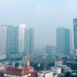 """กทม.-ปริมณฑลฝุ่นบังตา PM 2.5 เกินค่ามาตรฐาน 71 แห่ง เข้าขั้นวิกฤติ 20 พื้นที่ """"นนทบุรี"""" ขึ้นระดับสีม่วง"""