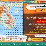 กรมอุตุนิยมวิทยาพยากรณ์อากาศประเทศไทยจะเผชิญกับสภาพอากาศทั้งร้อนและฝนฟ้าคะนอง ภาคเหนือตอนบนยังคงเจอกับฝุ่น PM2.5
