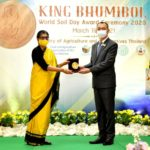 กระทรวงเกษตรฯ จัดพิธีมอบรางวัลวันดินโลก ประจำปี 2563 ให้แก่ สภาพัฒนาการเกษตรแห่งอินเดีย (Indian Council of Agricultural Research: ICAR)
