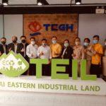 """""""อลงกรณ์ พลบุตร""""เดินหน้าโครงการ1กลุ่มจังหวัด1นิคมอุตสาหกรรมเกษตรอาหาร หารือเขตประกอบการอุตสาหกรรมไทยอีสเทิร์นแปรรูปสินค้าเกษตรเชิงนิเวศแบบครบวงจร"""