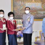 นายกรัฐมนตรี ร่วมประชาสัมพันธ์จำหน่ายผลิตภัณฑ์ดอกมะลิ เนื่องในโอกาสวันแม่แห่งชาติ ประจําปี 2564 และร่วมบริจาคเงินจำนวนหนึ่งสนับสนุนทางสมาคมสภาสังคมสงเคราะห์แห่งประเทศไทยฯ ในการจำหน่ายผลิตภัณฑ์ดอกมะลิ ด้วย