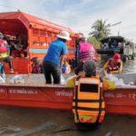 กรมป้องกันและบรรเทาสาธารณภัยรายงานยังคงมีพื้นที่ประสบอุทกภัย 17 จังหวัด ประสานเร่งช่วยเหลือผู้ประสบภัย
